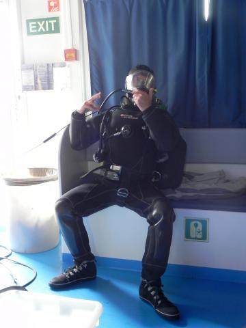 Video operatore subacqueo